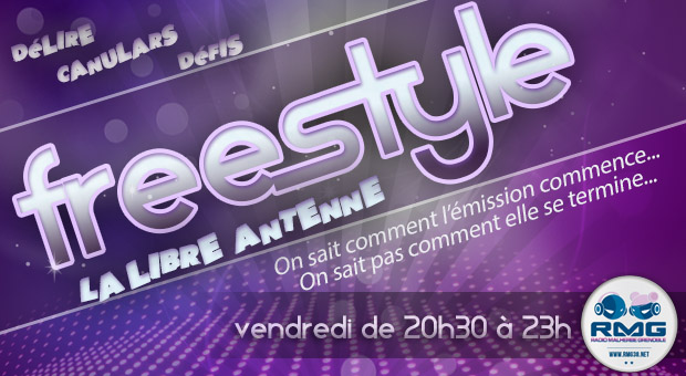 Emission Freestyle la libre antenne de RMG