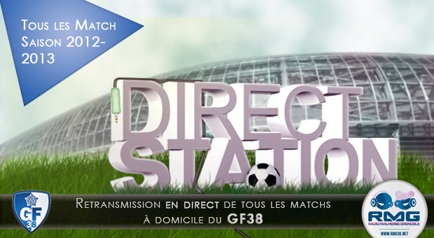 Direct Station l'emission foot de RMG
