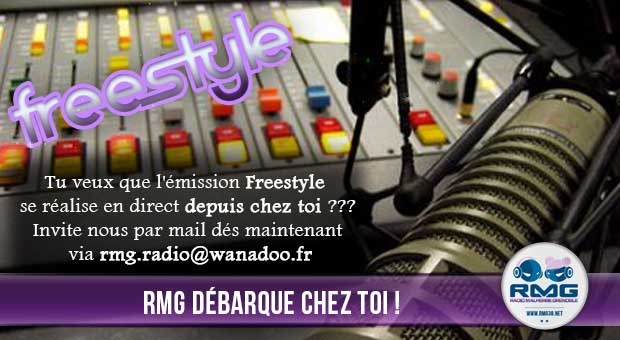 Freestyle en direct de chez toi